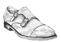 Chaussures à boucles pour homme