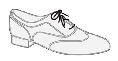 Chaussures à lacets pour femme