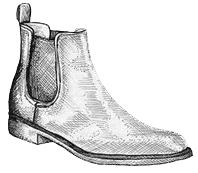 Chelsea boots pour homme